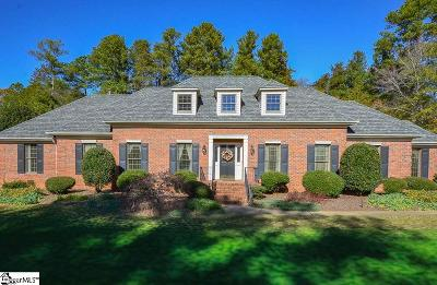 Spartanburg Single Family Home Contingency Contract: 309 Ashwick