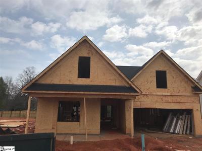 Simpsonville SC Single Family Home For Sale: $254,717