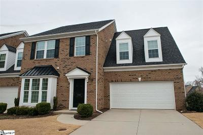 Simpsonville Condo/Townhouse For Sale: 225 Bickleigh