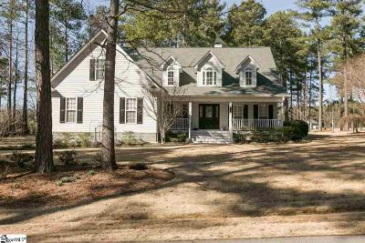 Fountain Inn Single Family Home Contingency Contract: 174 Pheasant