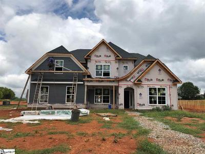 Simpsonville Single Family Home For Sale: Walnut Hill #Homesite