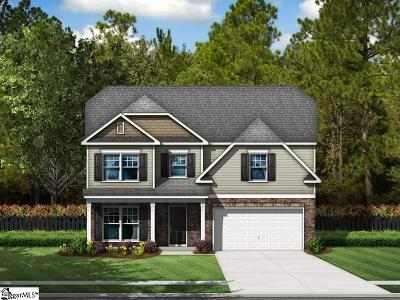 Greenville County Single Family Home For Sale: 28 Fowler Oaks #Lot 59