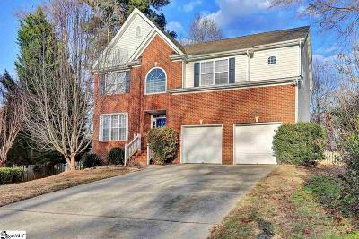 Greenville County Single Family Home Contingency Contract: 15 Featherwood