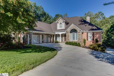 Greer SC Single Family Home For Sale: $615,000
