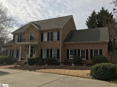 Simpsonville Single Family Home Contingency Contract: 110 Millstone