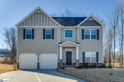 Simpsonville SC Single Family Home For Sale: $250,000