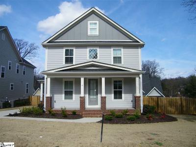Greenville County Single Family Home Contingency Contract: 4 Croft