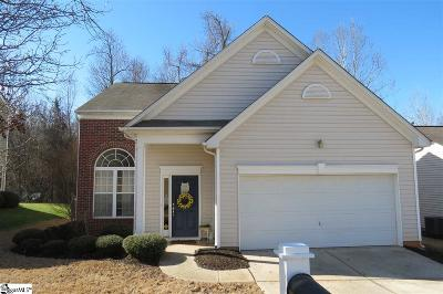 Greenville SC Single Family Home Sold: $168,000