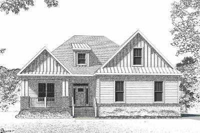 Travelers Rest Single Family Home For Sale: 19 Ryder Cup #Lot 137