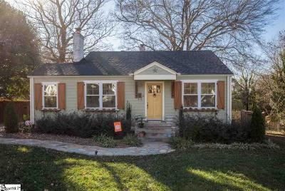 Augusta Road Single Family Home Contingency Contract: 12 Tyler