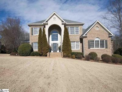 Simpsonville Single Family Home For Sale: 66 Sycamore Ridge