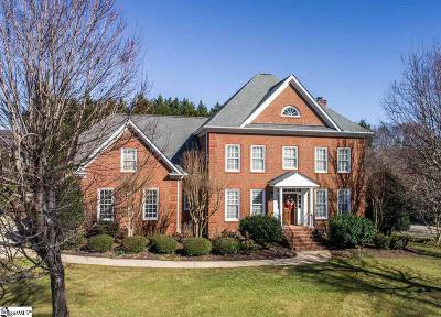 Simpsonville Single Family Home For Sale: 214 Huddersfield