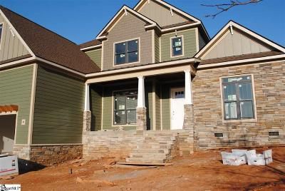 Piedmont Single Family Home For Sale: 616 Winding Slope #Lot 21