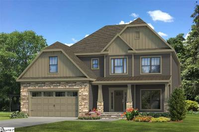 Piedmont Single Family Home For Sale: 104 Bold Slope #Lot 7