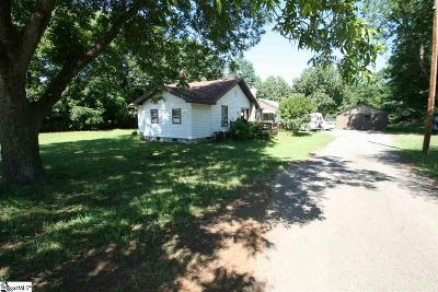 Spartanburg Single Family Home Contingency Contract: 2161 Chesnee