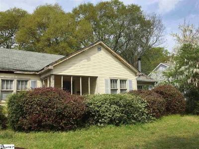 Greenville County Single Family Home For Sale: 418 SE Main
