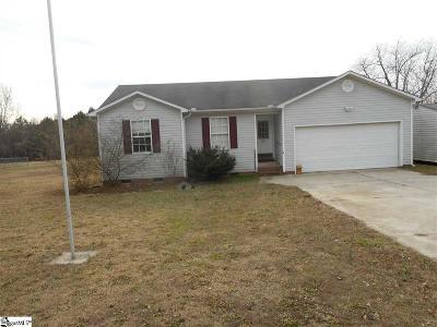 Pelzer Single Family Home For Sale: 267 Clardy