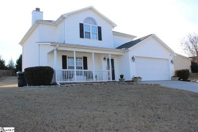 Simpsonville Single Family Home For Sale: 14 Trumpeter