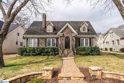Greenville Single Family Home For Sale: 16 W Tallulah