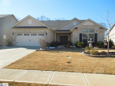 Simpsonville SC Single Family Home For Sale: $255,900