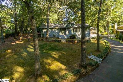 Greenville Country Club Single Family Home Contingency Contract: 37 Rock Creek