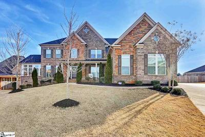 Simpsonville Single Family Home For Sale: 18 Stratton Chapel