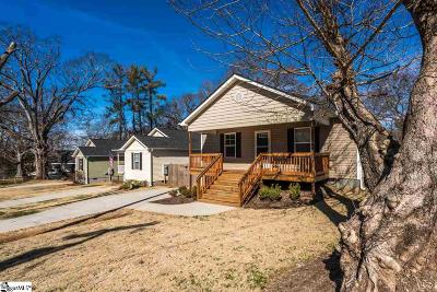 Greenville Single Family Home For Sale: 19 Beechwood