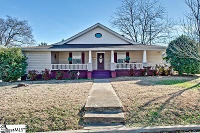 Greenville County Single Family Home Contingency Contract: 102 Hilton