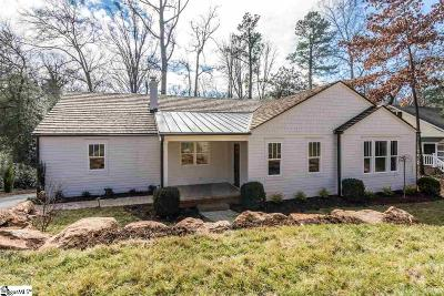 Greenville Single Family Home For Sale: 204 Brookside