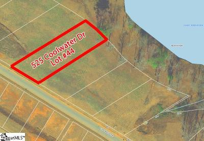 Taylors Residential Lots & Land For Sale: 525 Coolwater