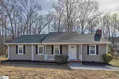 Greenville County Single Family Home Contingency Contract: 302 Barry