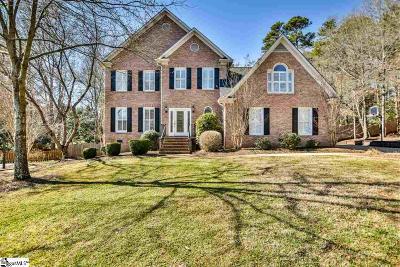 Simpsonville Single Family Home For Sale: 9 Springhaven
