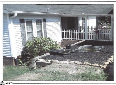 Pelzer Single Family Home For Sale: 427 A Depot