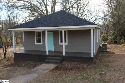 Easley Single Family Home Contingency Contract: 113 Ryan
