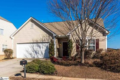 Simpsonville Single Family Home Contingency Contract: 15 Meadowrise