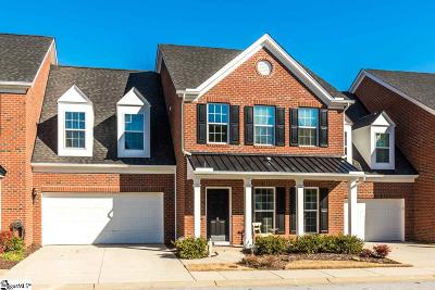 Simpsonville Condo/Townhouse For Sale: 6 Dilworth