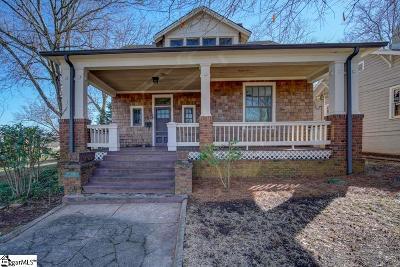 Greenville Single Family Home For Sale: 110 Whitsett