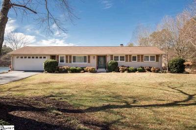 Spartanburg Single Family Home Contingency Contract: 455 Saranac