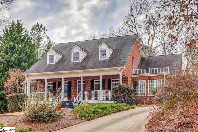 Clemson Single Family Home For Sale: 207 Knollwood