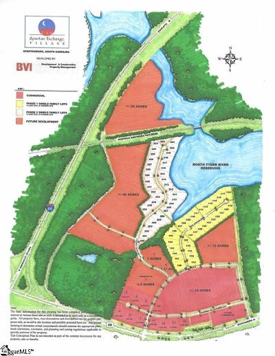 Spartanburg Residential Lots & Land For Sale: 216.03 E Exchange Village