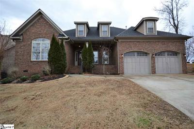 Taylors Single Family Home For Sale: 6 Double Crest