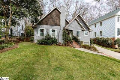 Greenville Single Family Home Contingency Contract: 55 Rock Creek