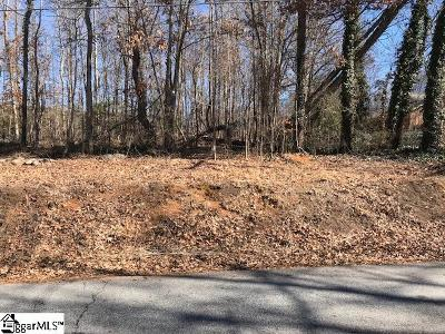 Greenville Residential Lots & Land Contingency Contract: 8 Timber
