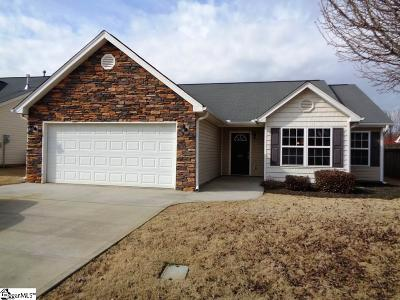 Simpsonville Single Family Home Contingency Contract: 326 Rivers Edge