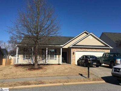 Simpsonville Single Family Home Contingency Contract: 102 Newbern