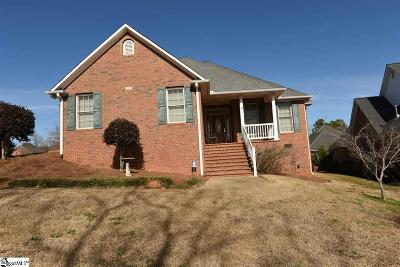 Spartanburg Single Family Home Contingency Contract: 172 Roberts Meadow