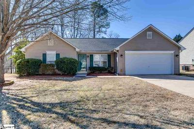 Simpsonville Single Family Home Contingency Contract: 4 Headwater
