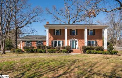Greenville County Single Family Home Contingency Contract: 705 Hudson
