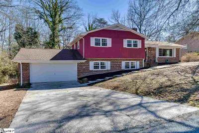 Taylors Single Family Home For Sale: 18 Vaille