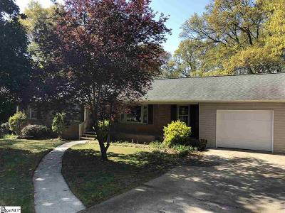 Taylors Single Family Home For Sale: 400 Dellrose